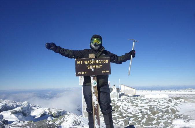 Mt. Washington Summit Winter