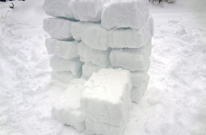 How To Make An Igloo And Camp Out Too